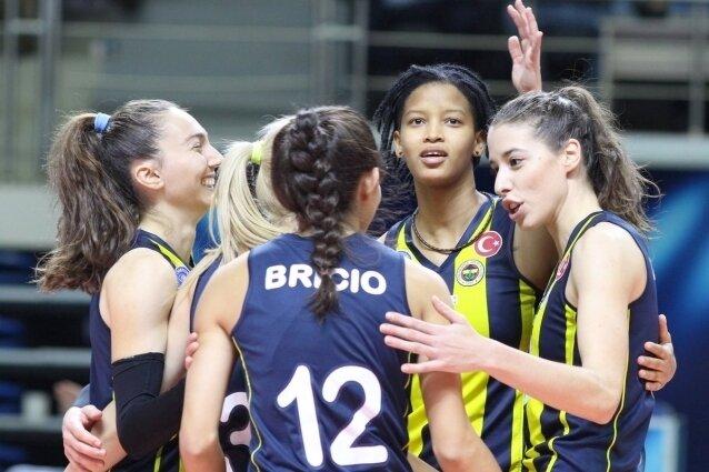 Voleybolda Fenerbahçemiz'in!