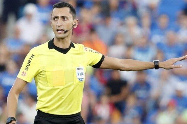 UEFA maçına Martinez atandı