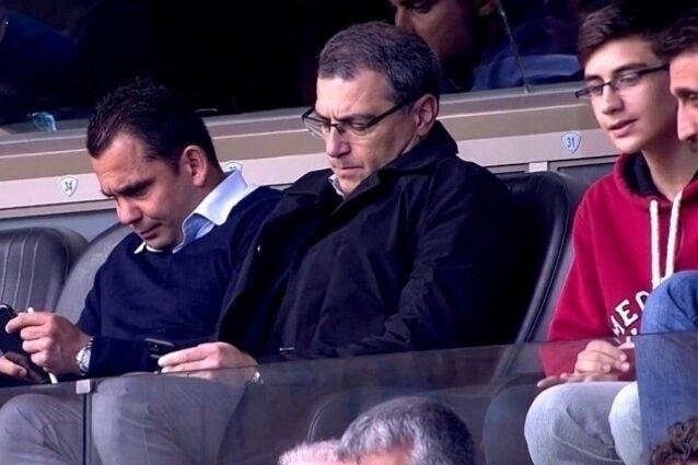 Comolli, Başakşehir - Alanyaspor maçını izledi